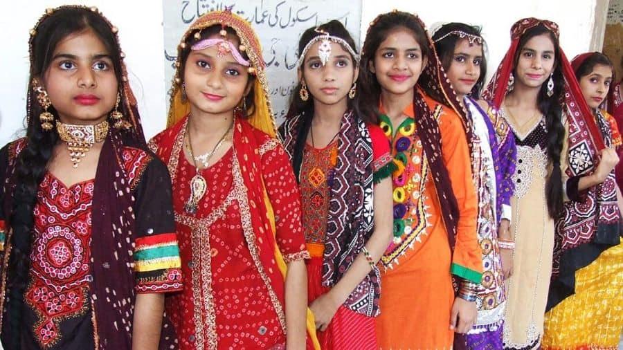 Cultural Dresses of Pakistan